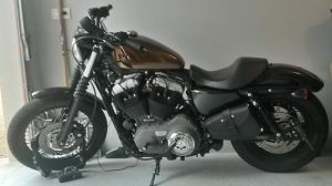 Sacoches Myleatherbikes Harley Sportster Forty Eight (31)